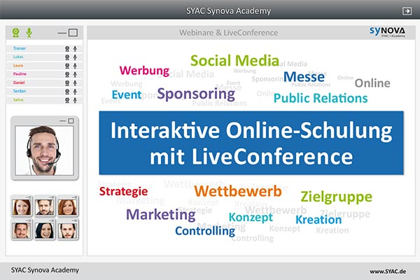 syac online kurs liveconference